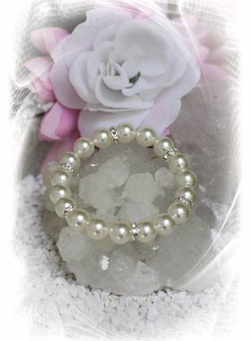 "Armband ""Verena"" weiss"