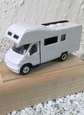 Magnet Wohnmobil weiss