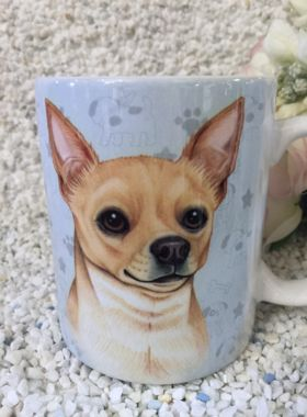 Edle Tasse Chihuahua mit Spruch