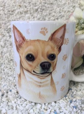Edle Tasse Chihuahuas mit Spruch